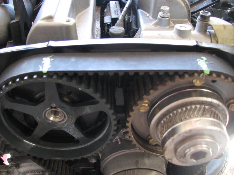 aftermarket cam gear installation 2jzgarage rh 2jzgarage com Ford 2.3 Timing Marks Diagram Subaru 2.5 Timing Marks Diagram