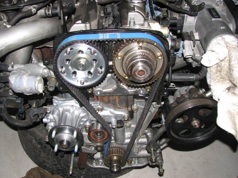 Suzuki Gs  Crankshaft Bolt Removal